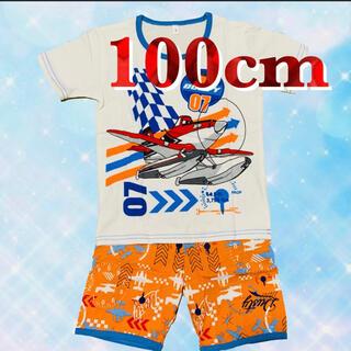 プレーンズ パジャマ 半袖 セットアップ 男の子 100(パジャマ)