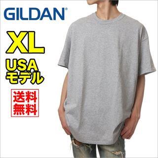 ギルタン(GILDAN)の【新品】ギルダン 半袖 Tシャツ メンズ XL グレー 無地(Tシャツ/カットソー(半袖/袖なし))