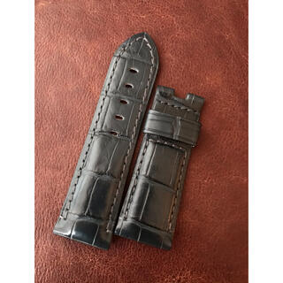 OFFICINE PANERAI - パネライ クロコ ベルト ショートサイズ  ラグ幅24mm用 正規品 新品