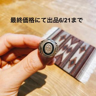ダブルアールエル(RRL)の超希少! ビンテージシルバーレオクラスリング 1956's 11.5号 RRL(リング(指輪))