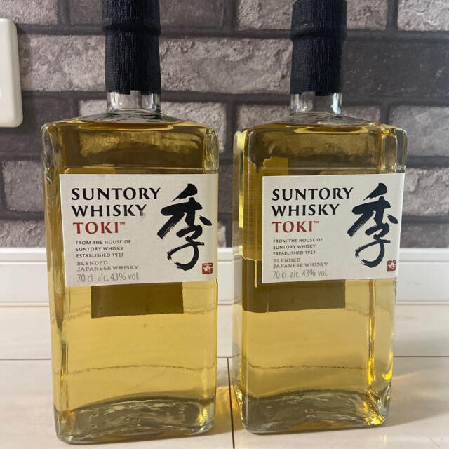 サントリー(サントリー)のサントリー 季  TOKI 2本セット SUNTORY 食品/飲料/酒の酒(ウイスキー)の商品写真