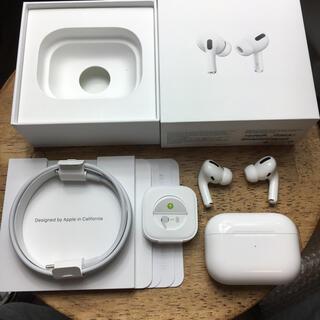 Apple - airpods pro 確実正規品 動作確認済 エアーポッズ プロ アップル