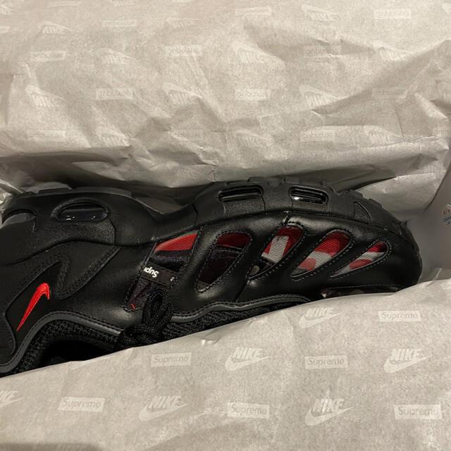 Supreme(シュプリーム)のSupreme Nike Air Max 96 black US10.5 メンズの靴/シューズ(スニーカー)の商品写真