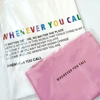 嵐 - 嵐 WHENEVER YOU CALL  Tシャツ🌈ポーチ