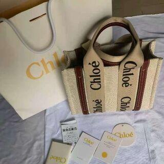 Chloe - クロエ Woody スモールトートバッグ