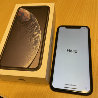 Apple - SIMフリー iPhoneXR Black 64GB