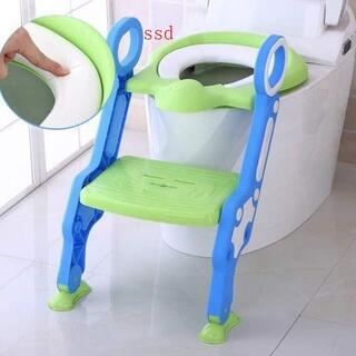 折りたたみ 子供用トイレトレーナー  柔らかいクッション トイレトレーニング(ベビーおまる)