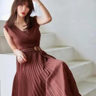 新品未使用♡herliptoTwinkle Pleated Knit Dress