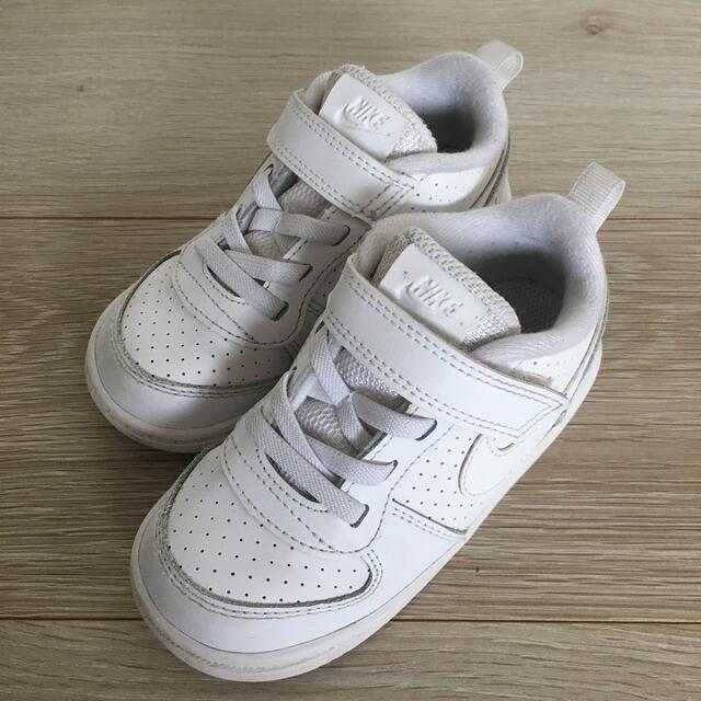 NIKE(ナイキ)のNIKE スニーカー 14㎝ 白  キッズ/ベビー/マタニティのベビー靴/シューズ(~14cm)(スニーカー)の商品写真
