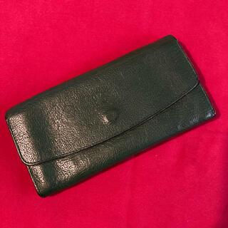 IL BISONTE - 最終価格 イルビゾンテ IL BISONTE 長財布 グリーン 緑