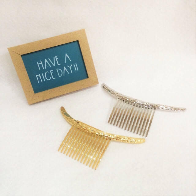 Instagramで大人気★シルバー クレセントコーム レディースのヘアアクセサリー(その他)の商品写真