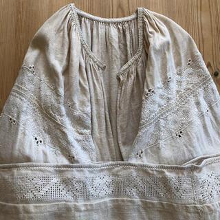 mina perhonen - ウクライナ刺繍 ワンピース