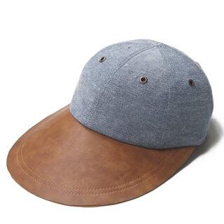 KANGOL - KANGOL LG PEAK BASEBALL 帽子 メンズ