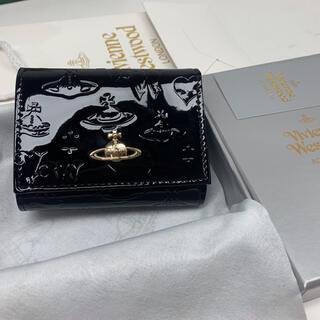セール‼️ ヴィヴィアンウエストウッド 財布 3つ折り財布 ブラック