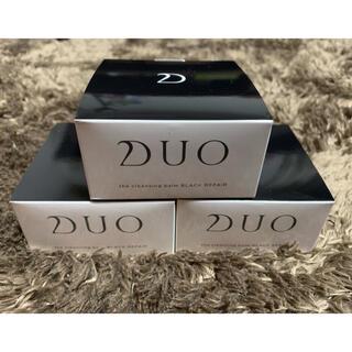 【新宿未使用】DUO デュオ クレンジングバーム ブラックリペア×3