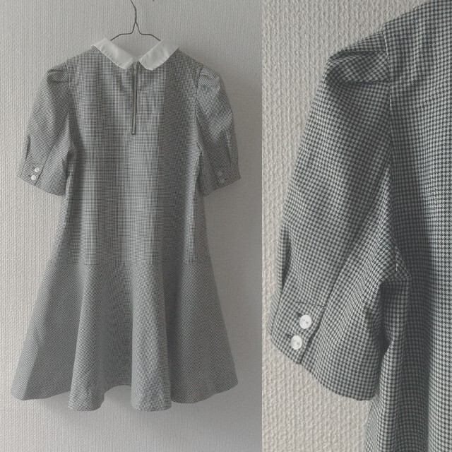 snidel(スナイデル)の【スナイデル】付け衿 ワンピース レディースのワンピース(ミニワンピース)の商品写真