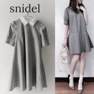 snidel - 【スナイデル】付け衿 ワンピース