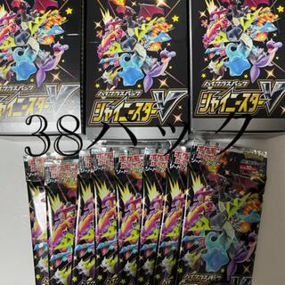 ポケモン(ポケモン)のポケモンカードゲーム ハイクラスパック シャイニースターV BOX 38 パック(Box/デッキ/パック)