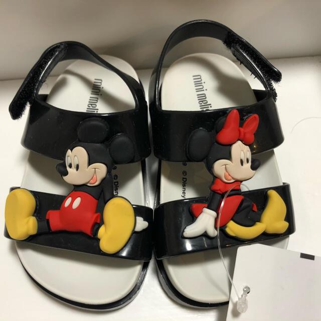 キッズサンダル ディズニー キッズ/ベビー/マタニティのベビー靴/シューズ(~14cm)(サンダル)の商品写真
