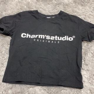 スタイルナンダ(STYLENANDA)のcharm's ショート丈 トップス(Tシャツ(半袖/袖なし))