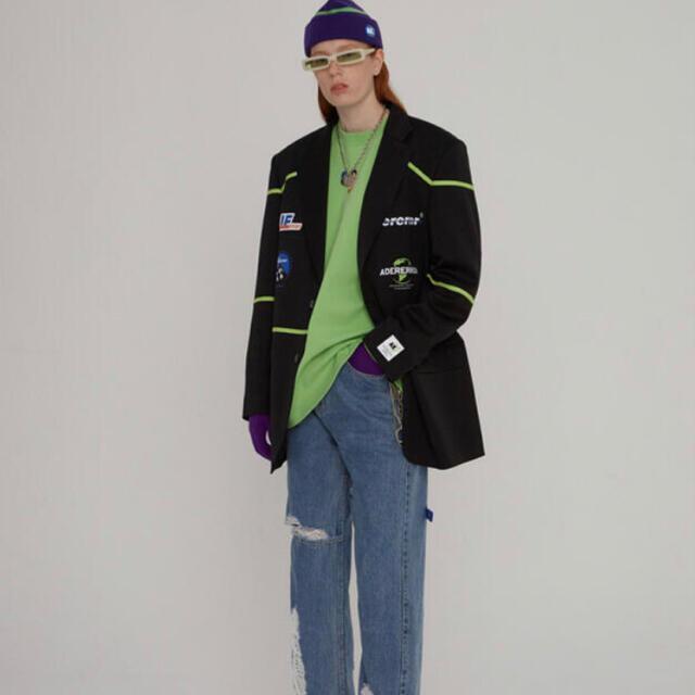 MAISON KITSUNE'(メゾンキツネ)の稀少 確実正規品 adererrorアダーエラー ジャケット メンズのジャケット/アウター(ダウンジャケット)の商品写真
