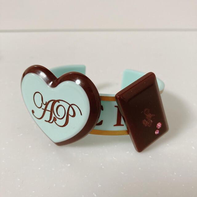 Angelic Pretty(アンジェリックプリティー)のAngelic Pretty チョコレート バングル jsk リング ソックス レディースのアクセサリー(ブレスレット/バングル)の商品写真