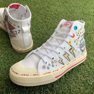 アディダス(adidas)の美品23adidas NIZZA HI RFアディダス×ミッキーニッツァF754(スニーカー)