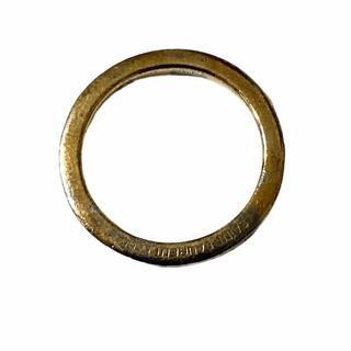 サンローラン(Saint Laurent)のR303-25) サンローラン ヴィンテージ加工 ゴールドリング 12号(リング(指輪))