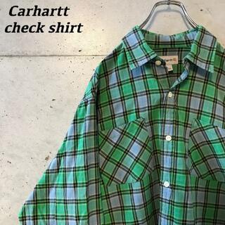 carhartt - carhartt チェックシャツ