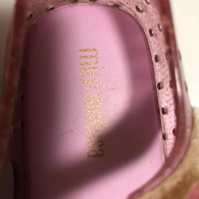 キッズサンダル ピンク キッズ/ベビー/マタニティのベビー靴/シューズ(~14cm)(サンダル)の商品写真