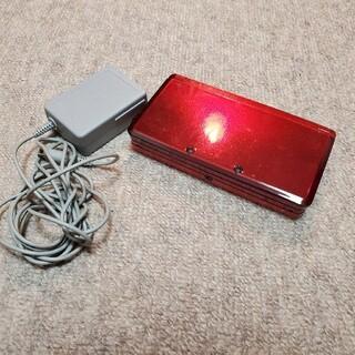 ニンテンドー3DS - 3DS レッド 動作確認済