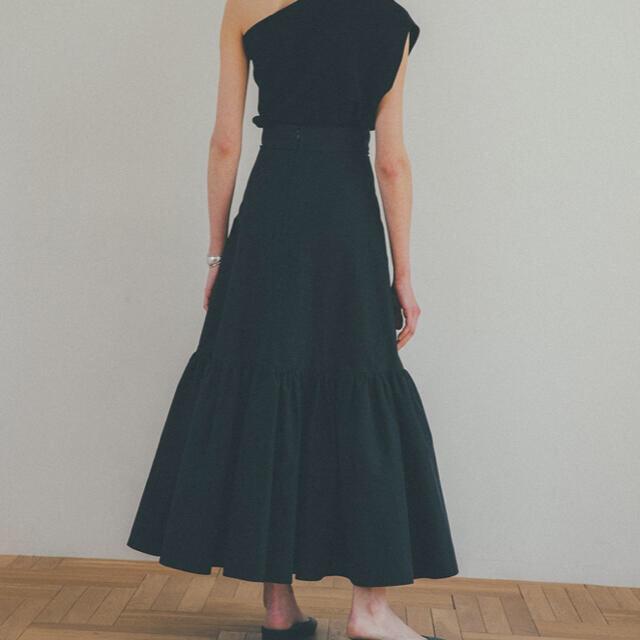 CLANE クラネ VOLUME TIERED MAXI SKIRT レディースのスカート(ロングスカート)の商品写真