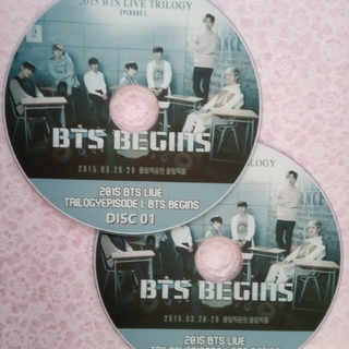ボウダンショウネンダン(防弾少年団(BTS))の2015 BTS BEGINS 2枚組(ミュージック)
