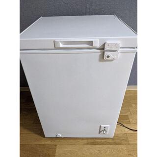 【美品】2020年製 冷凍庫 98L JF100ML01WH