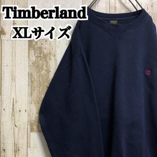 Timberland - 【ティンバーランド】【XL】【ワンポイント】【胸元.袖ロゴ刺繍】【スウェット】