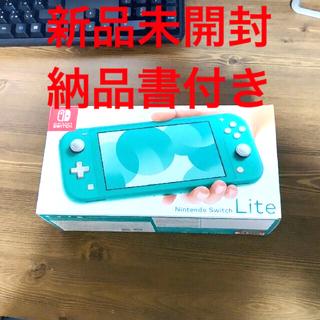 Nintendo Switch - Switch Lite ターコイズ 任天堂 スイッチ ライト 本体