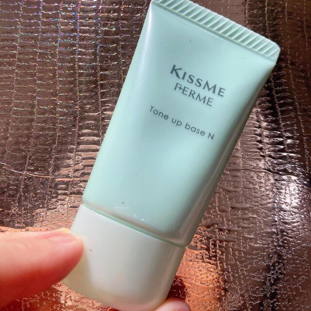 Kiss Me(キスミーコスメチックス)のキスミーフェルムトーンアップ化粧下地N01クリアグリーンSPF16PA++27g コスメ/美容のベースメイク/化粧品(化粧下地)の商品写真