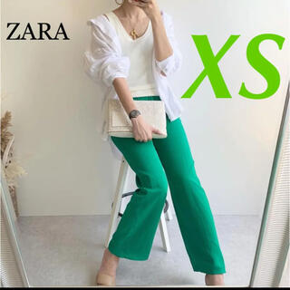 ZARA - ZARA 新品♡フルイドパンツ XS 完売 希少サイズ PLST