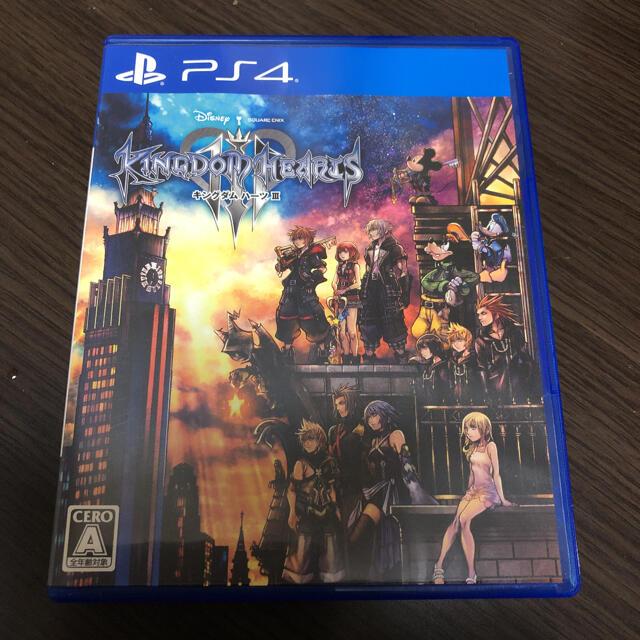 PlayStation4(プレイステーション4)のキングダム ハーツIII PS4 エンタメ/ホビーのゲームソフト/ゲーム機本体(家庭用ゲームソフト)の商品写真
