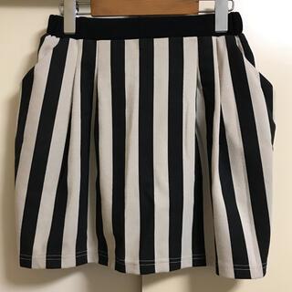 オリーブデオリーブ(OLIVEdesOLIVE)の☆OLIVE des OLIVE☆ストライプコクーンスカート(ミニスカート)