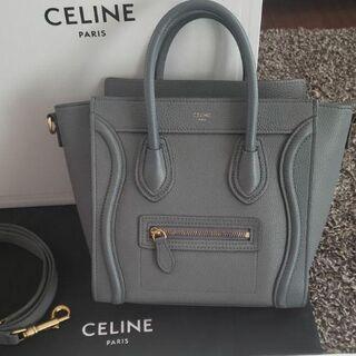 celine - CELINE セリーヌ ラゲージ ナノ コール