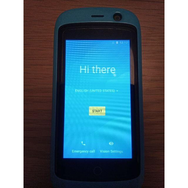 Unihertz Jelly Pro スカイブルー SIMフリー 4G  スマホ/家電/カメラのスマートフォン/携帯電話(スマートフォン本体)の商品写真