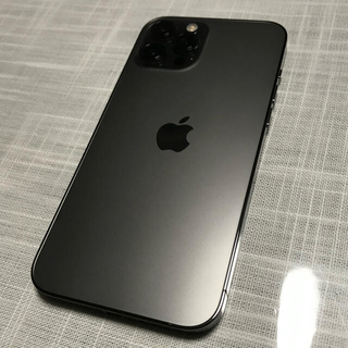 iPhone -  iPhone12 Pro  Max 128GB グラファイト simロック解除