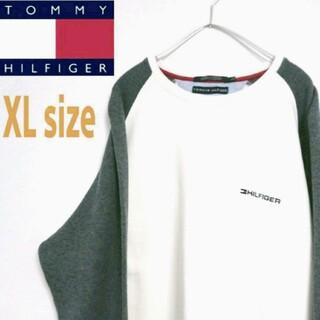 トミーヒルフィガー(TOMMY HILFIGER)のTOMMY HILFIGER トミーヒルフィガー ビッグサイズ スウェット XL(スウェット)