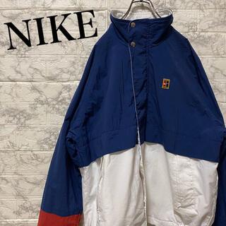 ナイキ(NIKE)のナイキ ブルゾン ジャケット ワンポイント刺繍ロゴ 90's(ブルゾン)