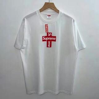 シュプリーム(Supreme)のSupreme 20FW Cross Box logo Tee(Tシャツ/カットソー(半袖/袖なし))