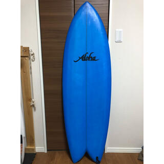 alohaサーフボード サンディエゴフィッシュ ツインフィン