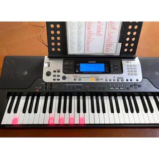 カシオ(CASIO)のCASIO 光ナビ 電子ピアノ LK-301BB(キーボード/シンセサイザー)
