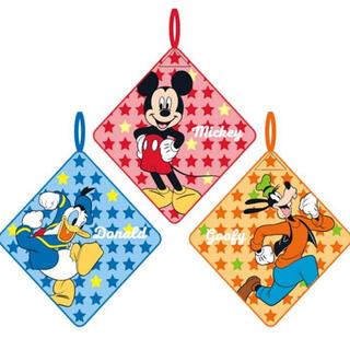 ディズニー(Disney)の[新品]  ミッキー / ドナルド / グーフィ ループタオル *3枚組*(その他)