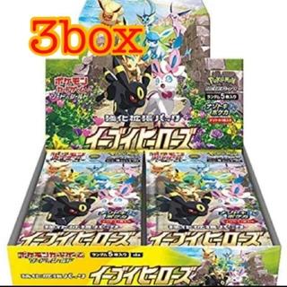 ポケモン(ポケモン)の27日発送予定 イーブイヒーローズ box 3箱(Box/デッキ/パック)